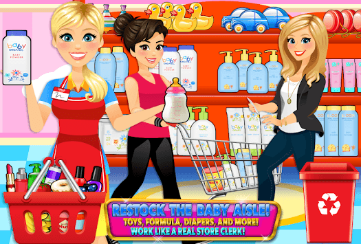Supermarket Drugstore Cashier APK screenshot 1