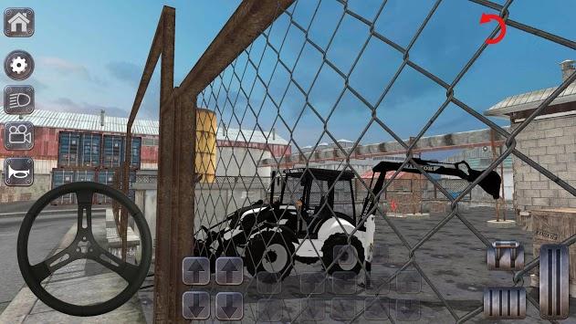 Backhoe Loader Factory Game APK screenshot 1