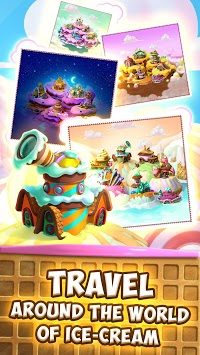 Ice Cream Challenge - Free Match 3 Game APK screenshot 1