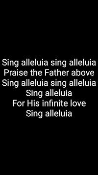 Songbook - Christian song lyrics APK screenshot 1