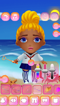 Cute Dolls - Dress Up for Girls APK screenshot 1