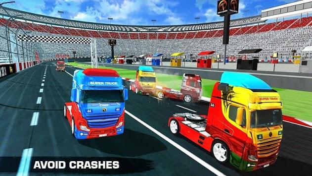 Truck Racing 2018 APK screenshot 1