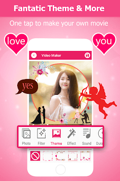 Video Slideshow Maker - Love Video Maker 360 APK screenshot 1