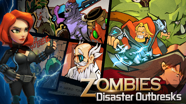 Clash of Zombies: Heroes Game APK screenshot 1