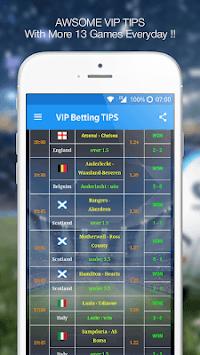 Betting TIPS VIP : DAILY PREDICTION APK screenshot 1