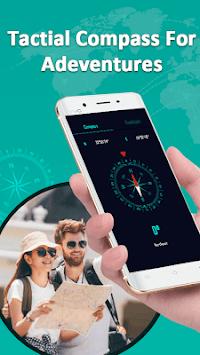 Compass & Super Bright Flashlight APK screenshot 1
