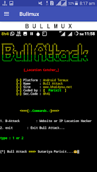 Bullmux - Commands and Tools for Termux APK Download For Free