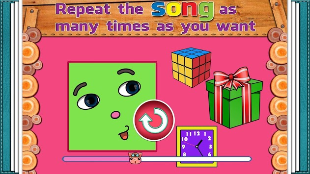 The Shapes Song APK screenshot 1