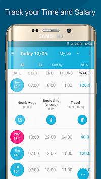 Work Log APK screenshot 1