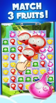Candy Monsters - Pop The Fruit Candy Juice Crush APK screenshot 1