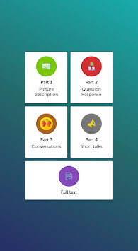 Toeic LC 1234 - Toeic Listening APK screenshot 1