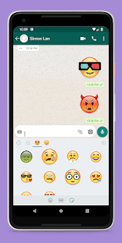 Stickers For WhatsApp 😜 APK screenshot 1