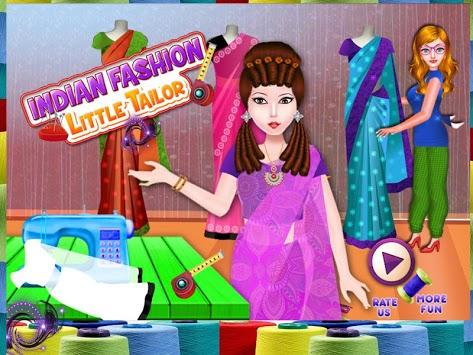 Indian Fashion Little Tailor APK screenshot 1