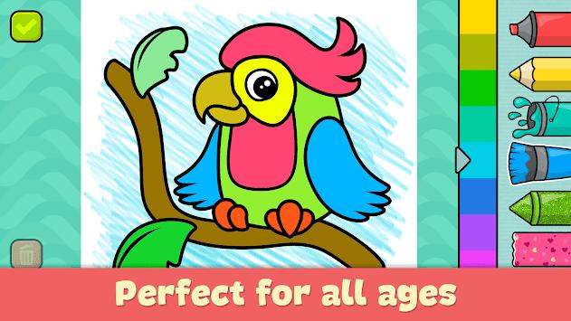Coloring games for kids APK screenshot 1