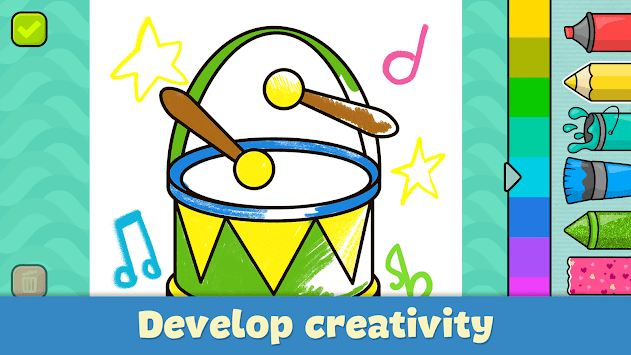 Coloring games for kids APK Download For Free