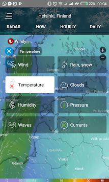 Weather radar map: waves, rain & hurricane tracker APK screenshot 1