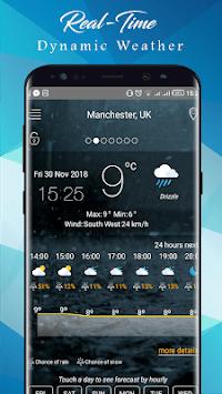 Weather Today App: Forecast, Radar, Clock & Widget APK screenshot 1