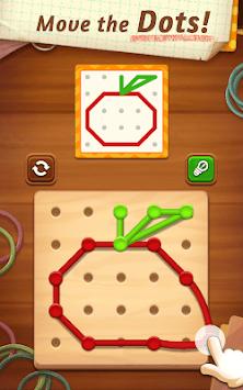 Line Puzzle: Color String Art APK screenshot 1