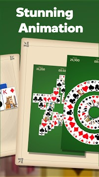 Tripeaks Solitaire: Kingdom APK screenshot 1
