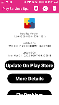 Update Services For Play APK screenshot 1