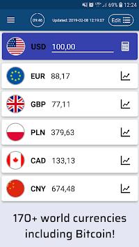 Currency Converter Pro™ Free Exchange Calculator APK screenshot 1