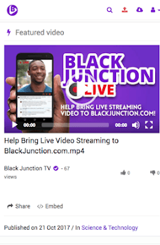 BlackJunction TV APK screenshot 1