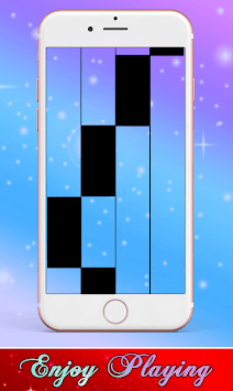 Anuel AA Karol G Secreto Piano Black Tiles APK screenshot 1