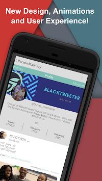 BlackTweeter APK screenshot 1