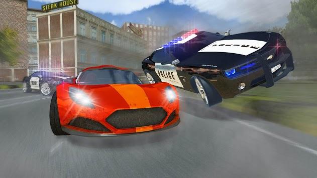 Police Car Chase : Hot Pursuit APK screenshot 1