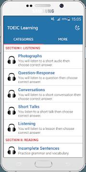 TOEIC Listening & Practice APK screenshot 1