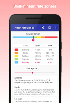 Accurate Heart Rate Monitor APK screenshot 1