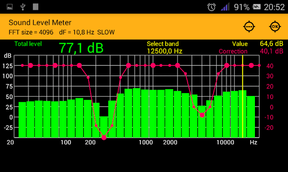 Sound Level Meter APK screenshot 1