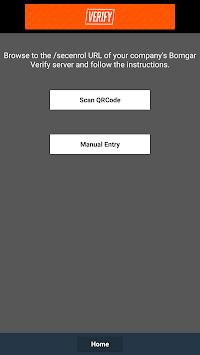Bomgar Verify (Deprecated) APK screenshot 1