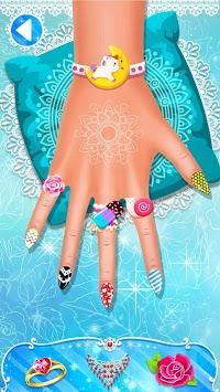 Nail salon game - Nail Art Designs APK screenshot 1