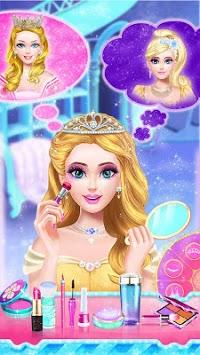 Princess dress up and makeover games APK screenshot 1