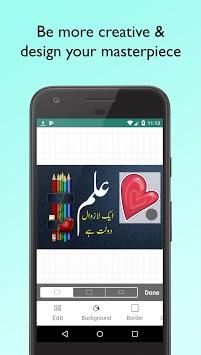 Imagitor - Urdu Arabic Persian text on photos APK screenshot 1