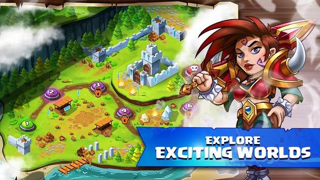 Tiny Gladiators 2 - Fighting Tournament APK screenshot 1