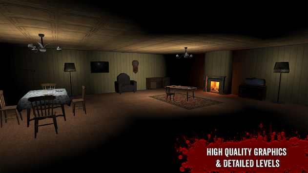 The Fear 3 : Creepy Scream House Horror Game 2018 APK screenshot 1