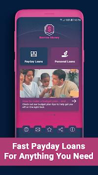 Borrow Money – Payday Loans & Short Term Loans APK screenshot 1