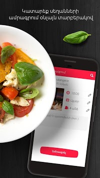Dinebook User - Restaurant Reservations: Armenia APK screenshot 1