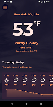 Breeze Weather APK screenshot 1