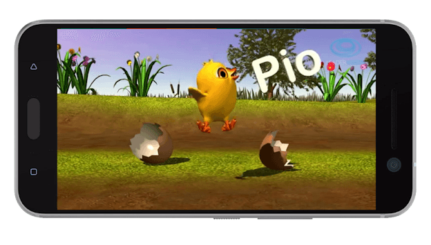 El Pollito Pio. APK screenshot 1