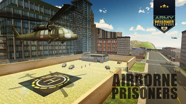 US Army Jail Prisoner Transport Plane Flight APK screenshot 1