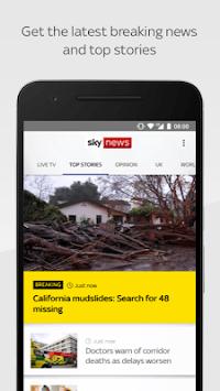 Sky News APK screenshot 1