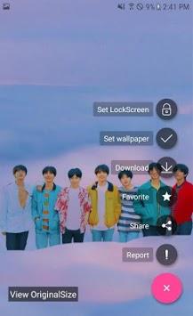 BTS Wallpaper - LockScreen, KPOP APK screenshot 1