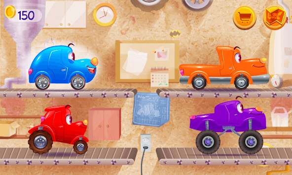 Funny Racing Cars APK screenshot 1