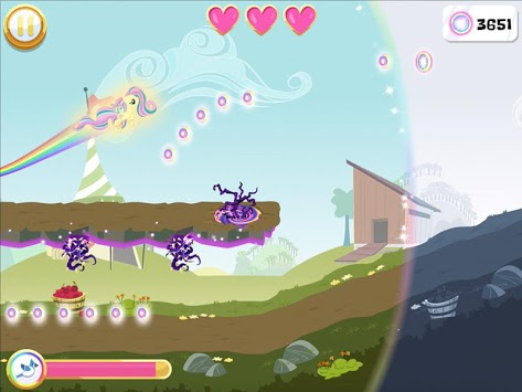 My Little Pony Rainbow Runners APK screenshot 1