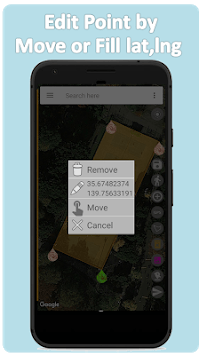 Map Area Measure APK screenshot 1