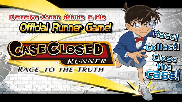 Case Closed Runner: Race to the Truth APK screenshot 1