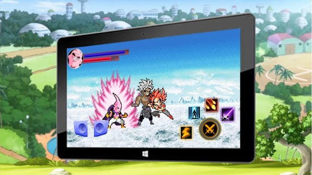 Buu vs Saiyan FighterZ APK screenshot 1